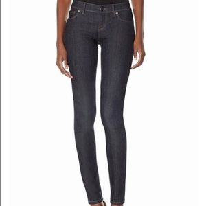 The Limited 917 size 0 dark wash skinny jeans